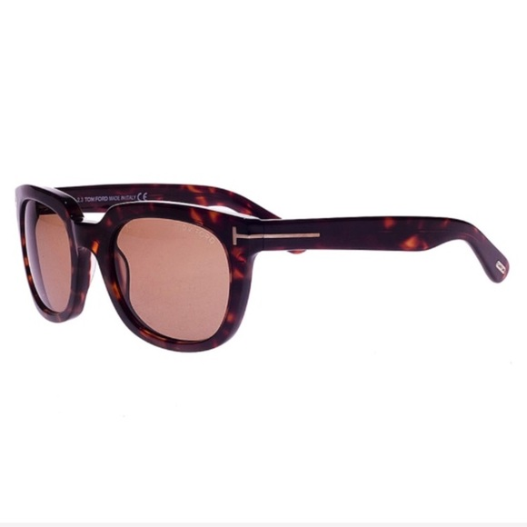 acbfcdebe7ea NEW TOM FORD Campbell Havana Sunglasses NEW IN BOX